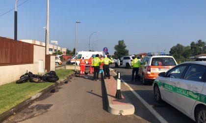 Incidente mortale a Coccaglio: perde la vita un centauro