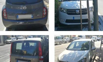 Soste selvagge, ma parcheggi vuoti