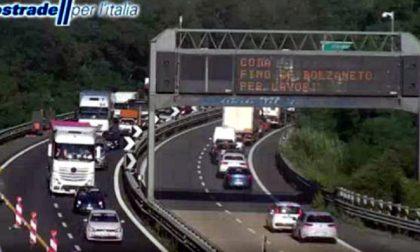 Chiude una corsia della A4 sul fiume Oglio, previste lunghe code: consigliata la BreBeMi
