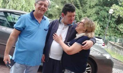 Dopo 150 giorni Gianluca è tornato a casa
