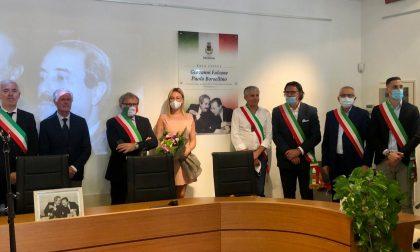 Montirone onora Falcone e Borsellino: intitolata ai due magistrati la sala consiliare