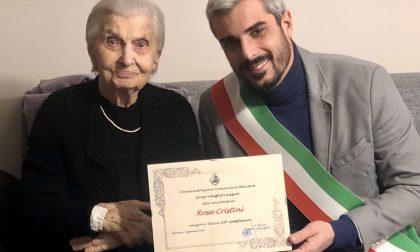 Addio alla centenaria di Mairano Rosa Cristini