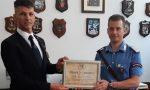 La comunità di Dello ha salutato il maresciallo Sergio De Vietro