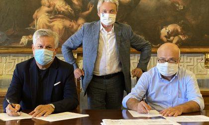 Firmato il protocollo d'intesa per il nuovo centro sportivo a Lonato