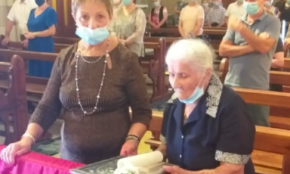 Pontevico 103 candeline per nonna Barbarina