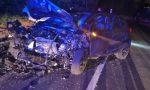 Frontale tra due auto nella notte a Salò, coinvolte tre persone