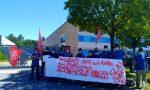 Preoccupati per il futuro: operai della Ravelli in sciopero