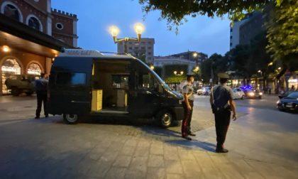 Arresti per droga e sanzioni in materia di sicurezza sul lavoro in città