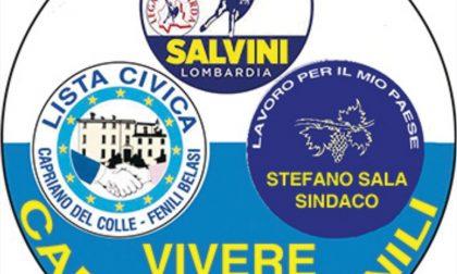 Elezioni, tutti i nomi della lista civica Vivere Capriano e Fenili