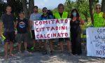 Mirko Savi arriva a Calcinato, ad accoglierlo il Comitato Cittadini
