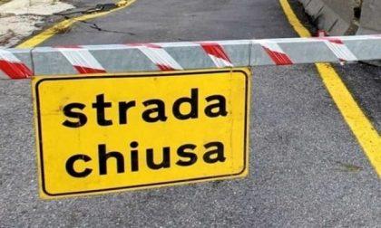 Frana sulla SP 29, chiusa la strada del Gavia