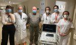 Donato un ecografo all'ospedale di Chiari