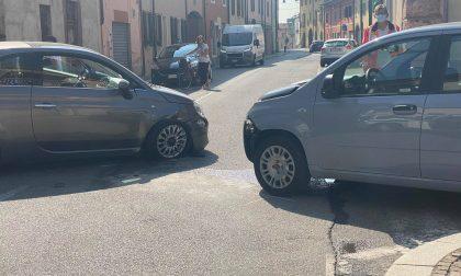 Trenzano scontro tra due automobiliste