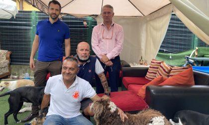 """La delegazione di Forza Italia in visita a """"Casa Bau"""""""