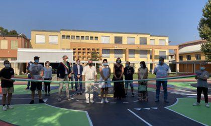 Inaugurata la nuova piastra di basket dedicata a Laura Rossi