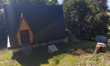 Accensione cabine idroelettriche a Magasa realizzate da Garda Uno