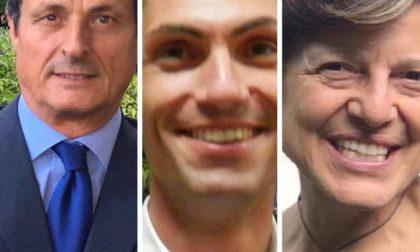 I candidati di Corte Franca si confrontano anche… al mercato