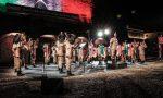 Le trombe della Fanfara a Orzinuovi per ricordare le vittime del Covid LE FOTO