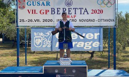 Luca Gerri è una promessa del tiro a volo