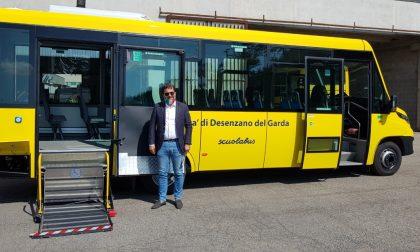Nuovo scuolabus per gli istituti di Desenzano