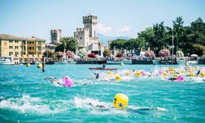 Due giorni con «Swim the island» a Sirmione