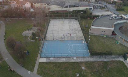Nuova linfa per lo sport al parco di Azzano Mella