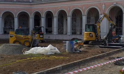 Nuova pavimentazione e riqualificazione per il cimitero comunale