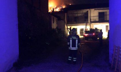 Fuga di gas e incendio a distanza ravvicinata: momenti di paura in paese