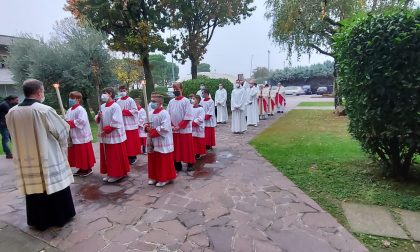 Santa Messa per il 50esimo di consacrazione della parrocchiale di Palazzolo sull'Oglio FOTO