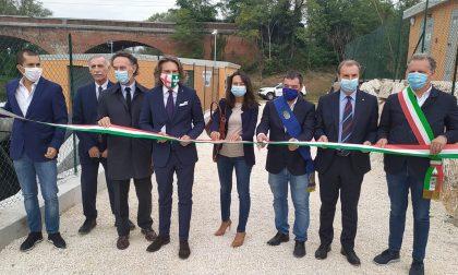 Manerbio, inaugurata la nuova centrale idroelettrica FOTO E VIDEO
