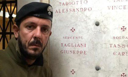 Dopo una lunga ricerca scopre dove sono sepolti i bisnonni, entrambi Caduti nella Grande Guerra