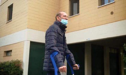 Dopo una lotta di sei mesi con il Covid, Giovanni Martinelli torna a casa