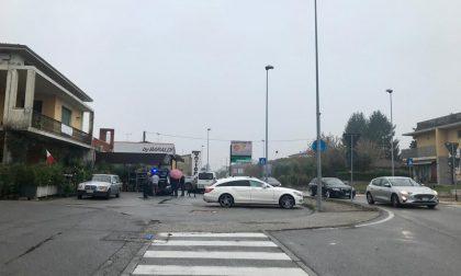 Investita una donna a Ponte San Marco