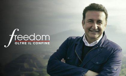 Italia Uno sul lago di Garda con i misteri di Freedom