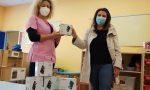 La Pro loco di Azzano dona alla materna 5 macchine fotografiche