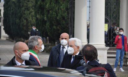 Il Presidente Mattarella a Castegnato in omaggio alle vittime del Covid LE FOTO