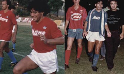 Addio a Maradona, nel 1988 ha giocato a Castiglione