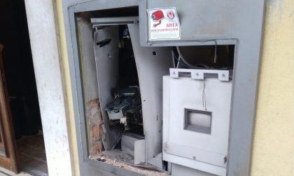 Colpo esplosivo al bancomat della Cassa Padana di Gambara