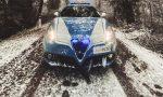 Primi fiocchi di neve anche a Brescia – GALLERY