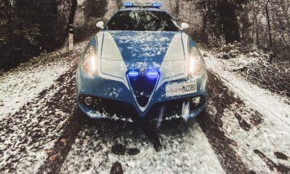Primi fiocchi di neve anche a Brescia - GALLERY