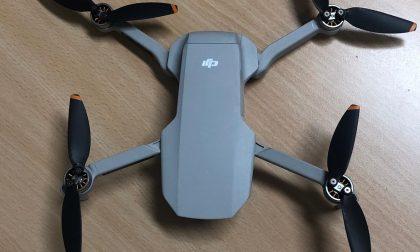 La Polizia Locale controlla la città con un drone