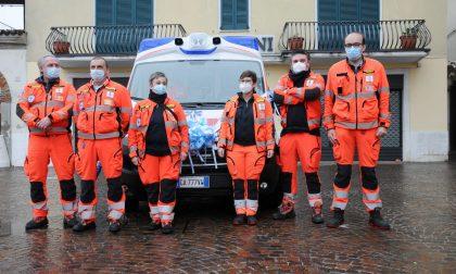 A Travagliato la benedizione della nuova ambulanza della Croce Azzurra