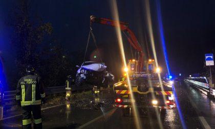 Grave incidente sulla Sp510 tra Sulzano e Sale Marasino