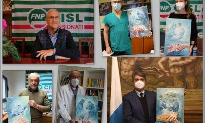 Premio Panzera a Roberto Farfaglia, direttore della Chirurgia dell'ospedale di Manerbio