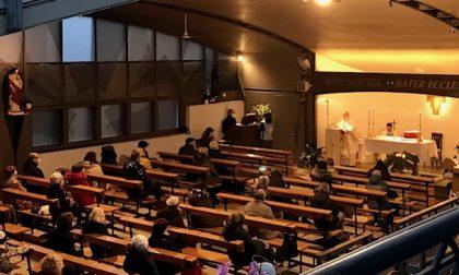 Dopo il vescovo Tremolada anche il vicario generale Fontana al Santuario di Maria Rosa Mistica