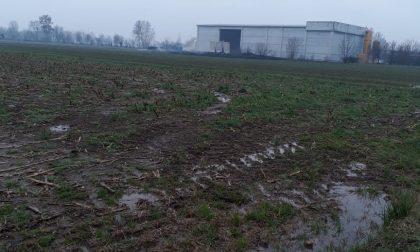 Crolla una parte di capannone Wte, rischio di contaminazione da fanghi