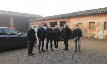 L'assessore Fabio Rolfi in visita a Pralboino