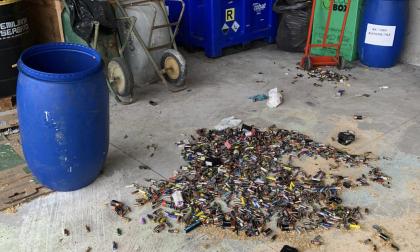 Vandali al centro rifiuti di San Gervasio: arrivano le fototrappole