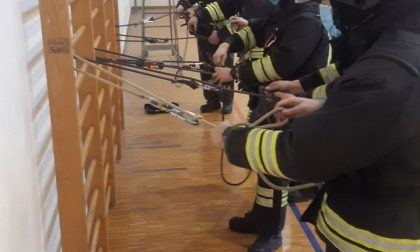 Vigili del Fuoco, il personale volontario continua le sessioni di formazione GALLERY