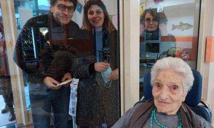 Cento anni e non sentirli: il traguardo (alla vetrata) di Iole Brescianini